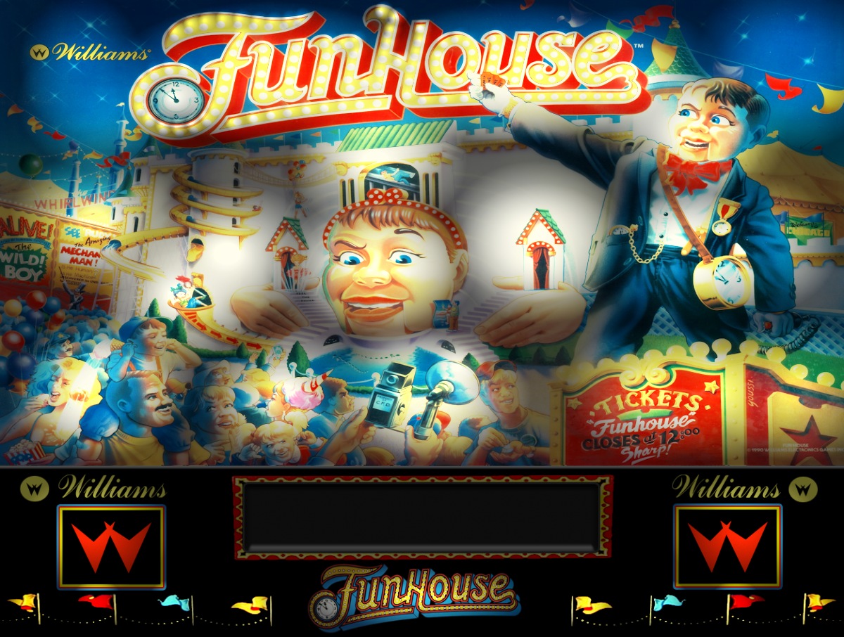 Funhouse (Williams 1990) directb2s zip - VPForums org