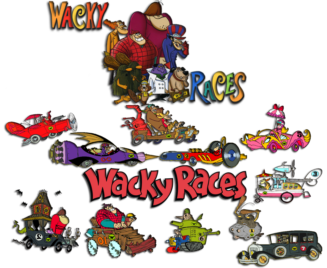 Wacky races logo images for Wacky wallpaper
