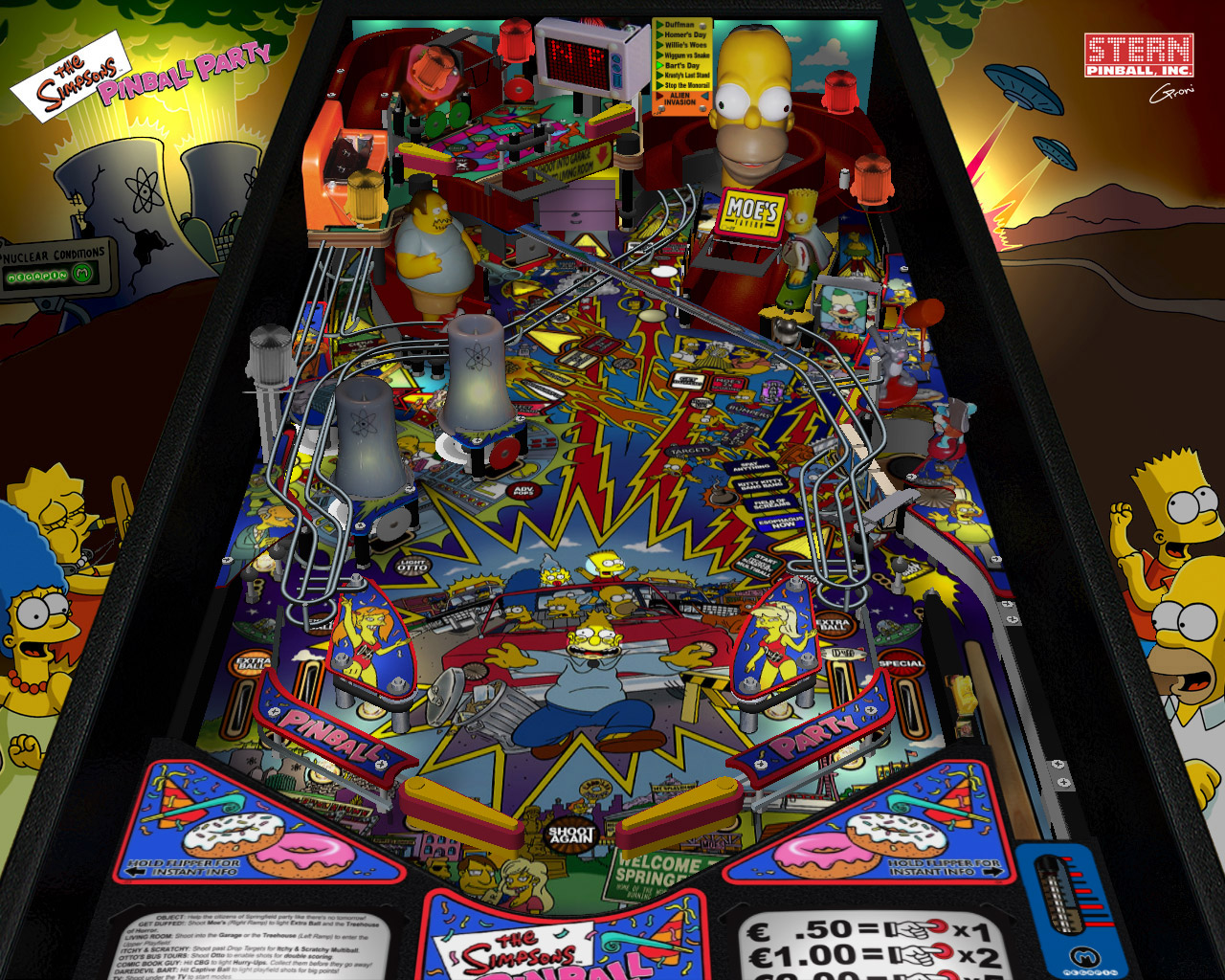 The Simpsons Pinball Party Rom – Unique Birthday Party Ideas
