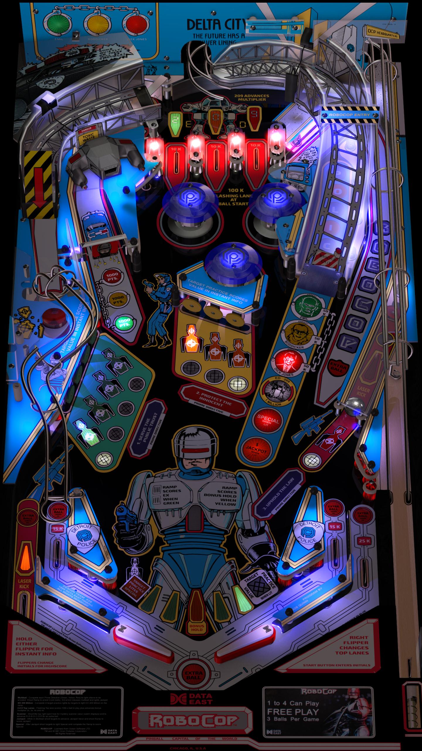 Robocop (Data East 1989) - VPForums org